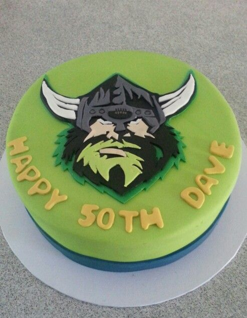 Canberra Raiders Birthday Cake