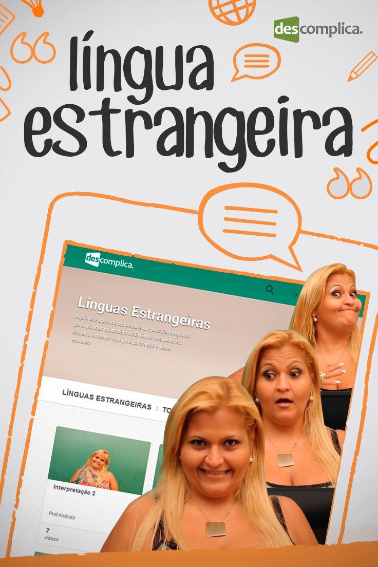 Aulas de inglês e espanhol para dar uma mãozinha para a prova do ENEM!