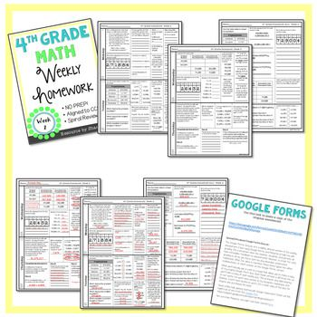 Why purchase this homework?   ✔ Aligned to CCSS & GSE  ✔ NO PREP   ✔ Assessment Included   ✔ Rigorous   ✔ Spiral Review   ✔ Compliments Envision Math     Get 2 weeks FREE here so you can assess the quality and rigor before deciding to buy.     Week 1 – Third Grade Review; Place Value [4NBT2]   Week 2 – Place Value Place Value to the Millions; Comparing and Ordering Whole Numbers [4NBT1, 4NBT2]