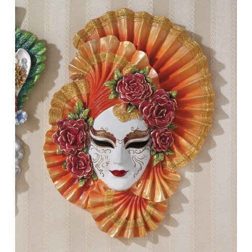 Ladies of the Carnivale Countess Alessandro Sculptural Wall Mask by Design Toscano. $39.95. Sparkling with silver and gold glitter.. Almost two-and-a-half feet tall. For Indoor Use Only.. WU74135 Features: -Venetian style.-Artist: Veronese's.-Sparkling silver and gold glitter punctuated with red lips.-For indoor use only.