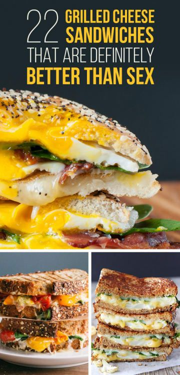 22 Grilled Cheese Sandwiches That Look So Good You'll Start To Sweat
