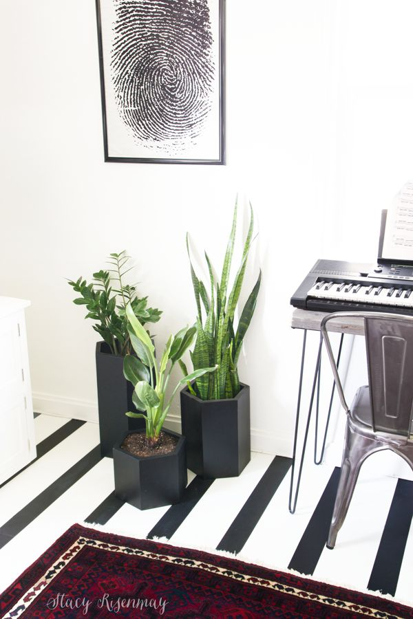 Hexagon Planters | Not JUST A Housewife