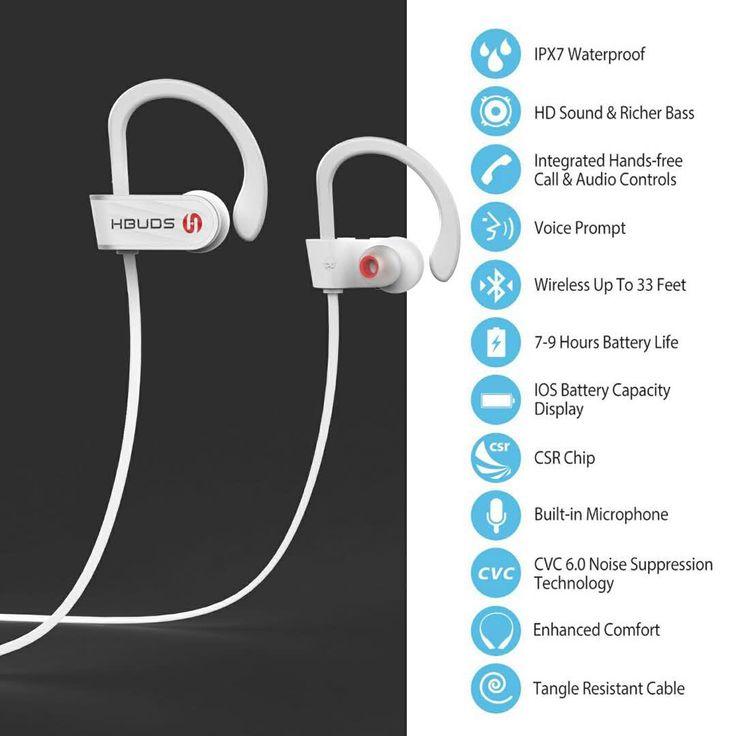 Bluetooth earbuds headphones pack - hbuds bluetooth earbuds