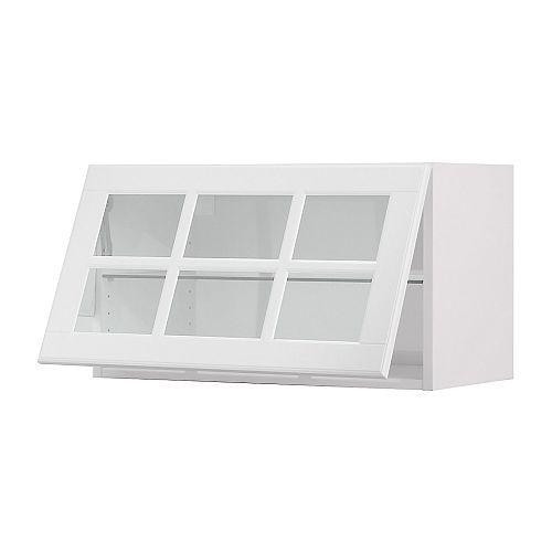 Ikea Kitchen Cabinet Construction: AKURUM Wall Cab Horizontal W Glass Door IKEA Door Lift