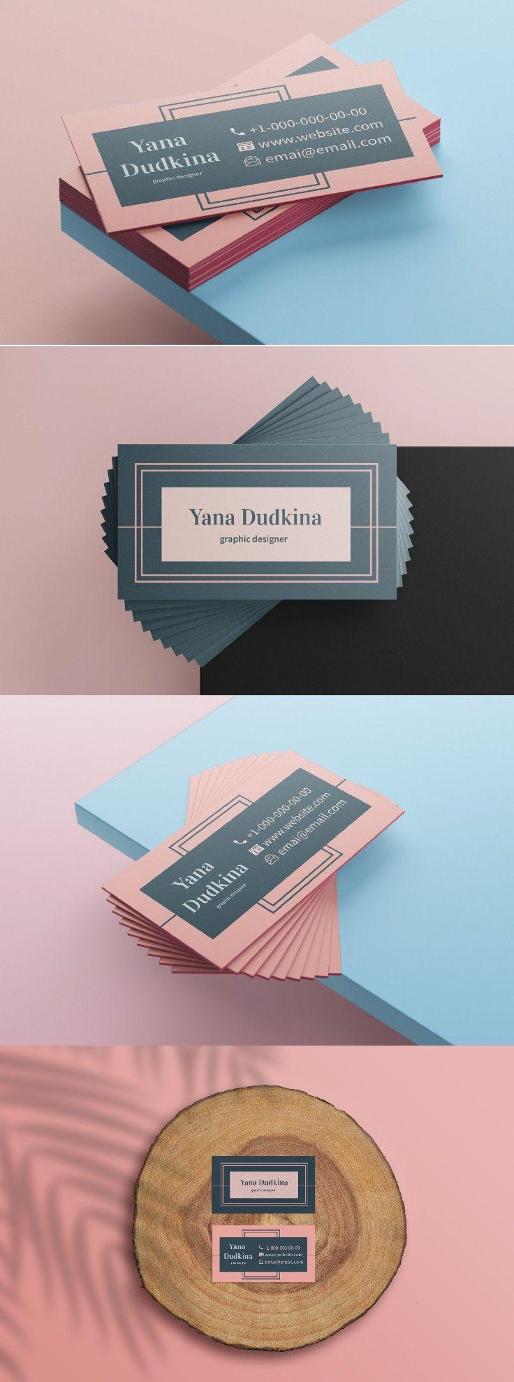Business Card Template Beauty Business Card Template Pink Etsy Business Cards Diy Templates Beauty Business Cards Business Card Template