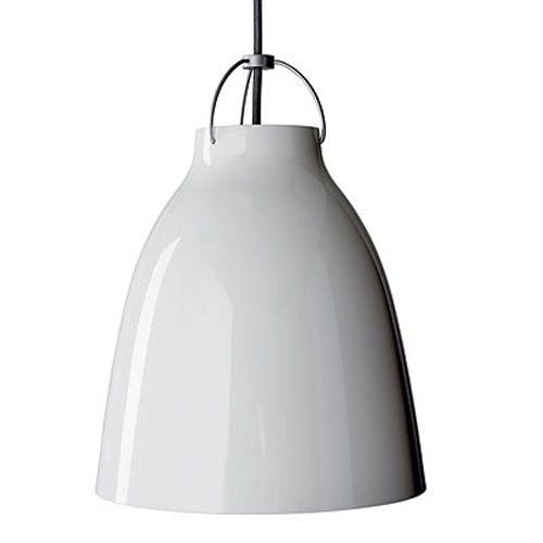 Caravaggio P4 White Pendant Light (X-Large)
