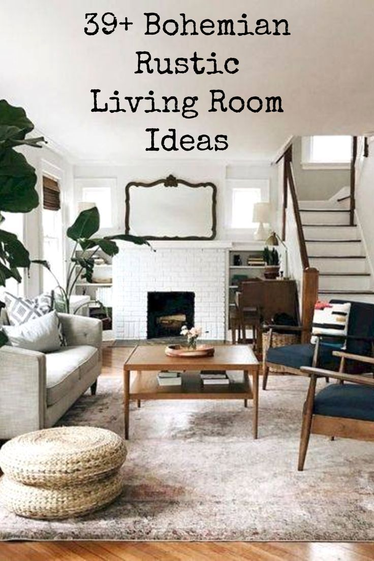 Mid Century Minimalism In Your Living Room Chic Living Room Decor Living Room Decor Rustic Bohemian Chic Living Room Living room ideas rustic