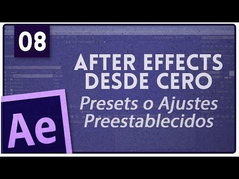 ▶ Curso After Effects: #5 - Linea de Tiempo (Timeline) - YouTube