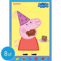 Peppa Pig Tableware Ultimate Kit for 16 Guests - Girls Birthday Party Themes - Girls Birthday - Birthday Party Supplies - Party City