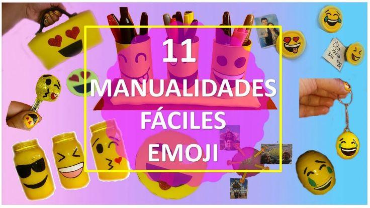 11 Manualidades Emoji Fáciles Que TIENES QUE INTENTAR! ( Con Reciclaje )