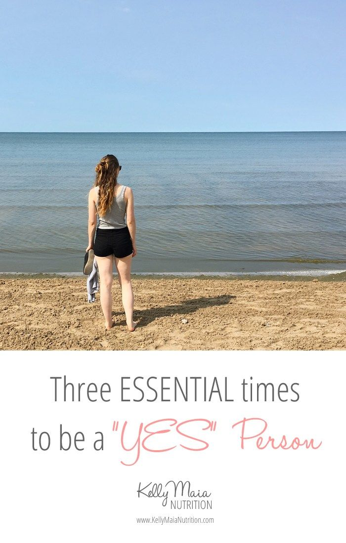 """Do you let fear guide you? Have you stopped listening to your intuition? I break down three ESSENTIAL times to be a """"yes"""" person. Click to read why I think it's important to say """"YES"""". 