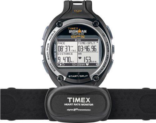 Timex T5K444HE , Orologio digitale da uomo, al quarzo, quadrante nero, bracciale in resina | Your #1 Source for Watches and Accessories