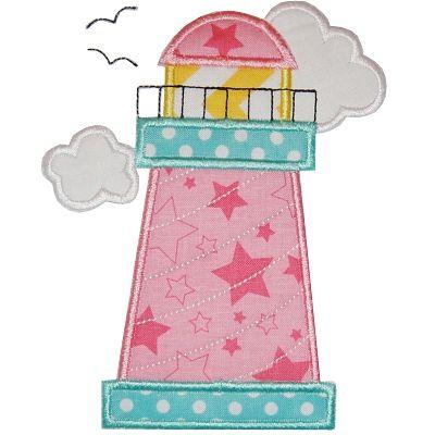 Lighthouse Applique
