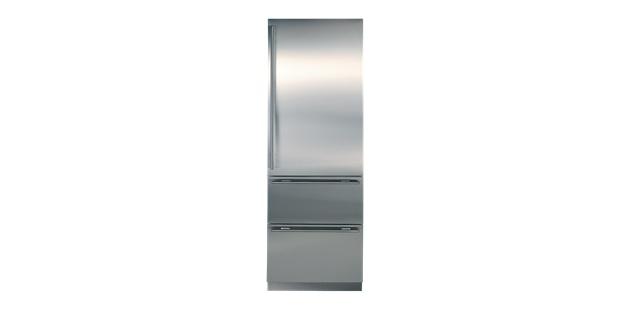 Integrated Fridge Freezer | Sub-Zero modern option. exposed SS