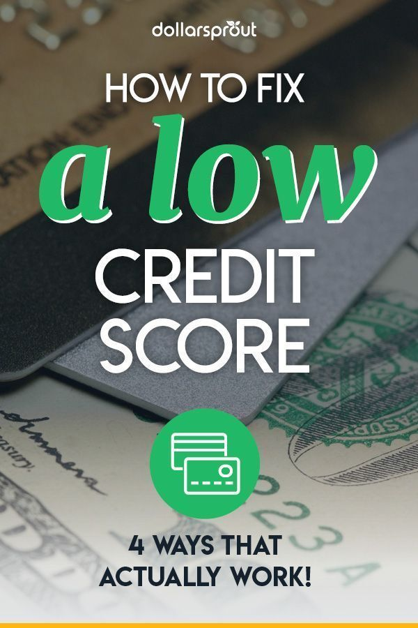 7 Simple Tips On How To Improve Your Credit Score Dollarsprout Fix Your Credit Improve Your Credit Score Credit Repair