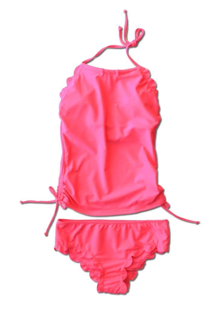Hallie Tankini - Pink - $52