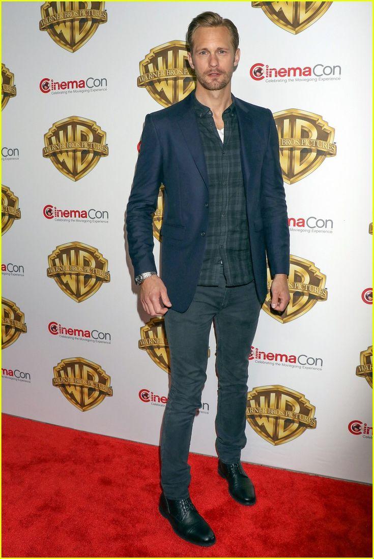 Alexander Skarsgard Leads 'Legend of Tarzan' Cast at CinemaCon: Photo #3629451. Alexander Skarsgard joins his Legend of Tarzan co-stars at the Warner Bros. presentation during CinemaCon on Tuesday (April 12) at the Caesars Palace in Las Vegas.…