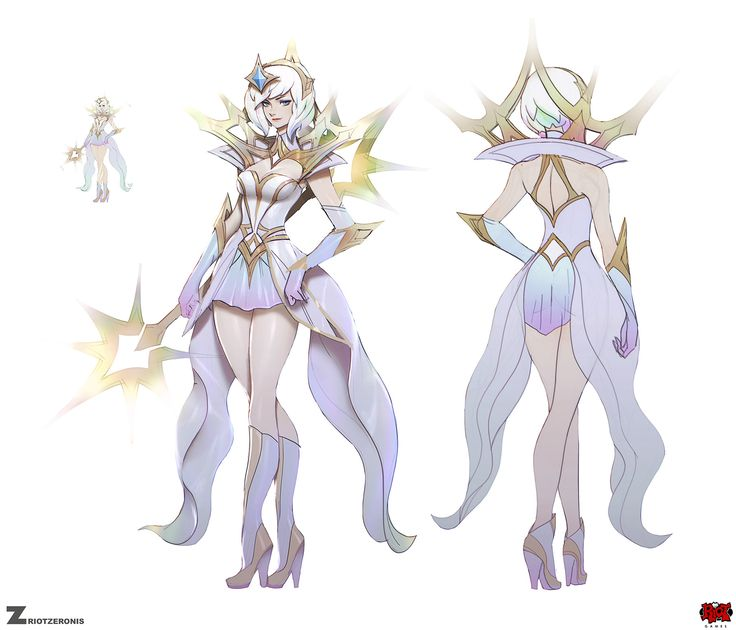 ArtStation - Elementalist Lux - Light, Paul Kwon | ART | Pinterest ...
