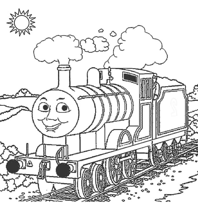 Edward The Train Coloring Pages Thomas And Friends