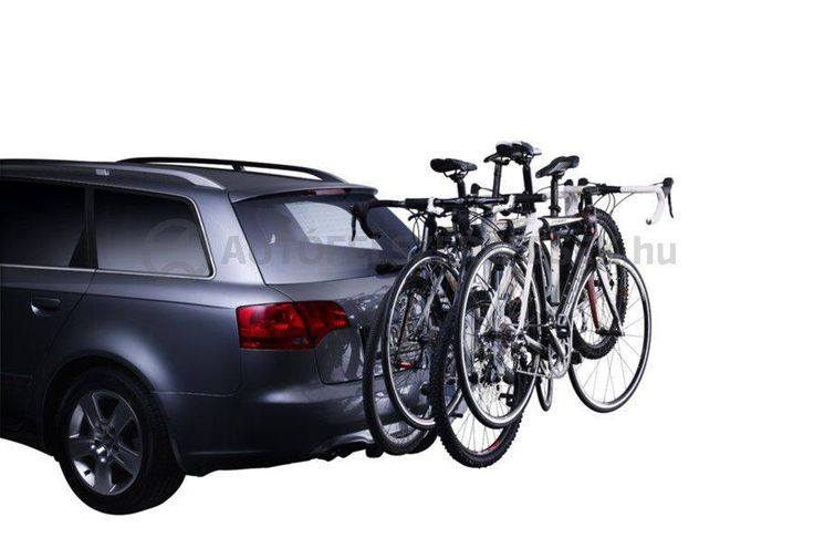 4 kerékpár biztonságos szállítása! Thule HangOn 9708 pántokkal és fényvisszaverővel van ellátva a nagyobb biztonság érdekében... https://autofelszerelesek.hu/9708_thule_hangon_4_darabos_kerekpartarto_vonohorgra