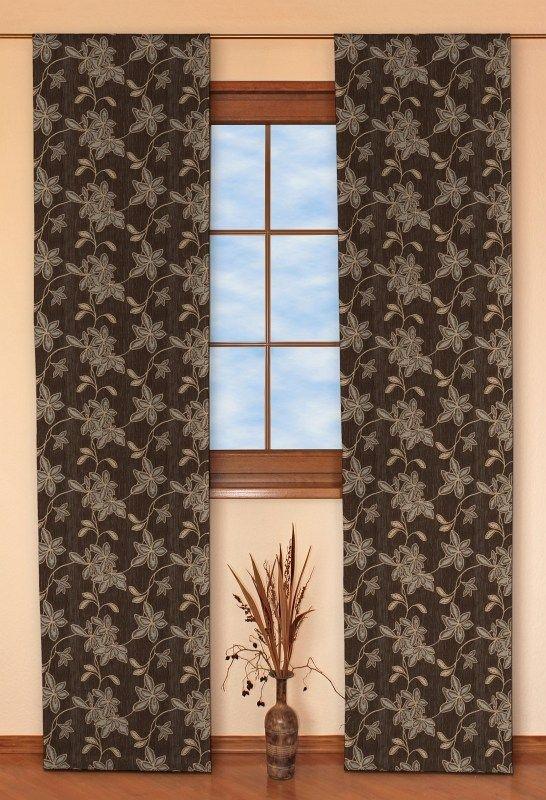 Panelové závesy (japonská stena) 2 ks V kolekcii Luxury, tkanina: 614-92
