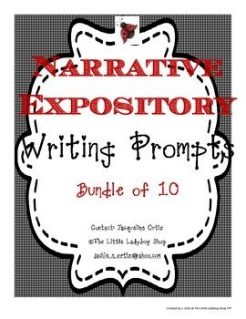 This is the perfect tool to get your students prepped for the upcoming STAAR Writing Test. Included are the 10 Writing Prompts. 4 Narratives and 6 Expository Prompts!You can have your students work on a different prompt weekly up to the STAAR test date!!!
