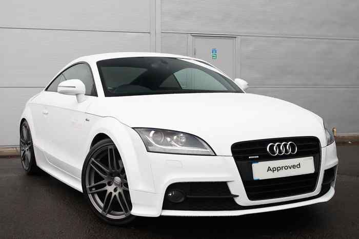 Ibis White  Audi TT Coupe