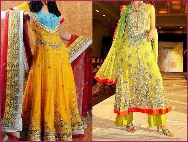 Mehndi Clothes For Brides : 70 best the perfect dress for mehndi dresses images on