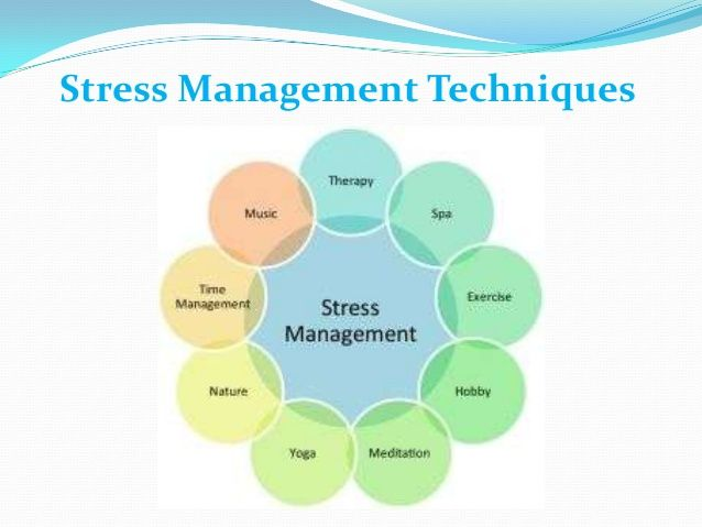 Stress management phd thesis