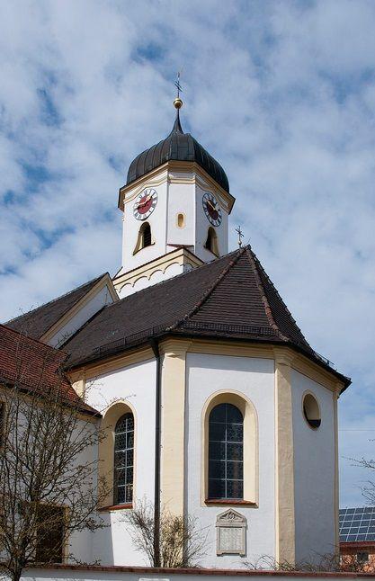 Weissenhorn-Attenhofen, Pfarrkirche St. Laurentius (Neu-Ulm) BY DE