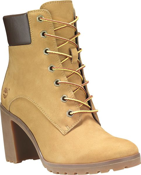 59835c541047 Timberland Allington 6-Inch Lace Boots in Wheat Nubuck colour available  from Brandshop UK with