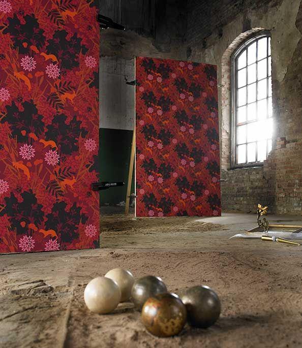 Katträd wallpaper by Hanna Werning