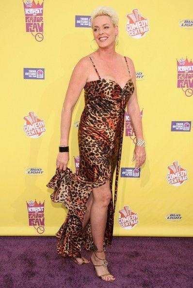 Actress Brigitte Nielsen attends the 2007 Comedy Central Roast Of Flavor Flav