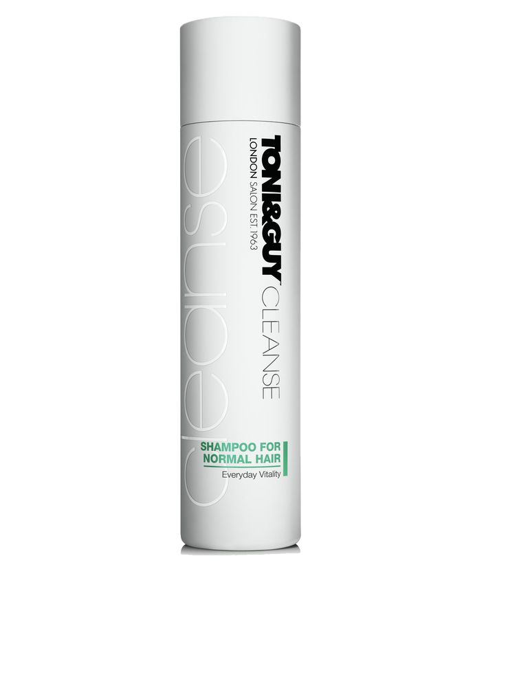 TONI&GUY Hair Care Cleanse Shampoo For Normal Hair RRP $15.99