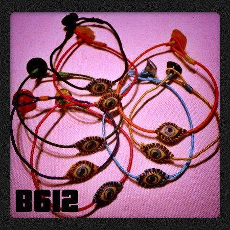 B612 evil eye bracelet * talisman * handmade in Athens by B612 on Etsy