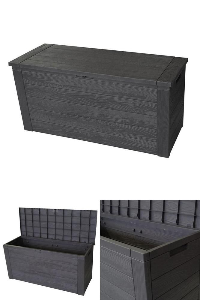 Garden Storage Box Large Plastic Waterproof Strong Outdoor Cushions Toys 300l Outdoor Cushions Garden Storage Storage