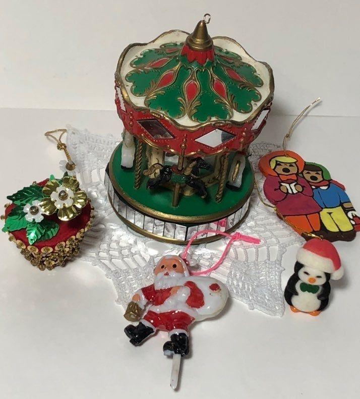 Vintage Ornament Lot Mercari In 2020 Vintage Ornaments Ornaments Family Birthdays