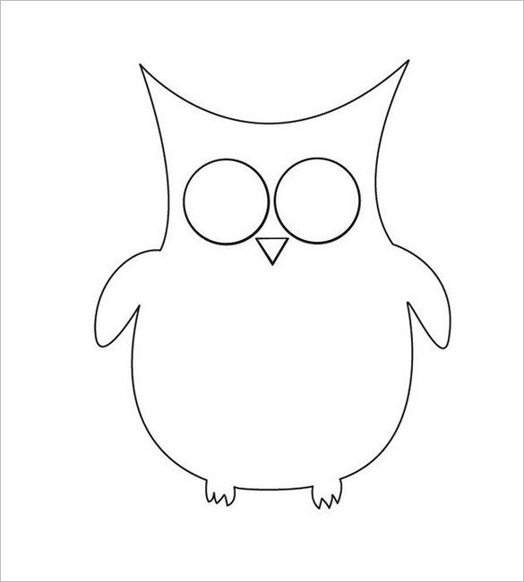 50 best images about owl stencils on pinterest owl for Owl templates for sewing