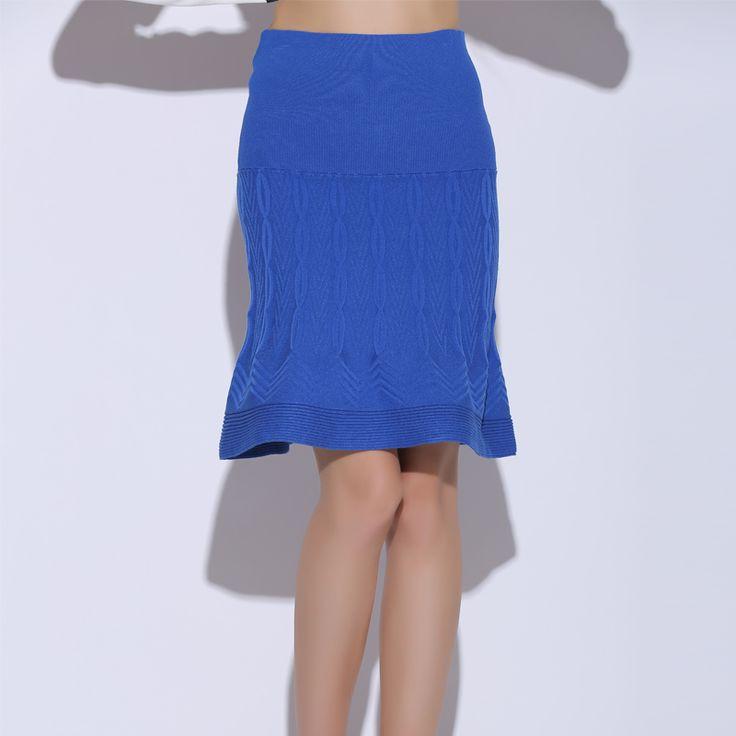 A5233 новый обвал юбка изысканный небольшой поворот вязать юбка была тонкая пакет бедра юбка Весна Taobao G32-