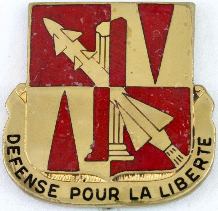 401st AAA Battalion Crest