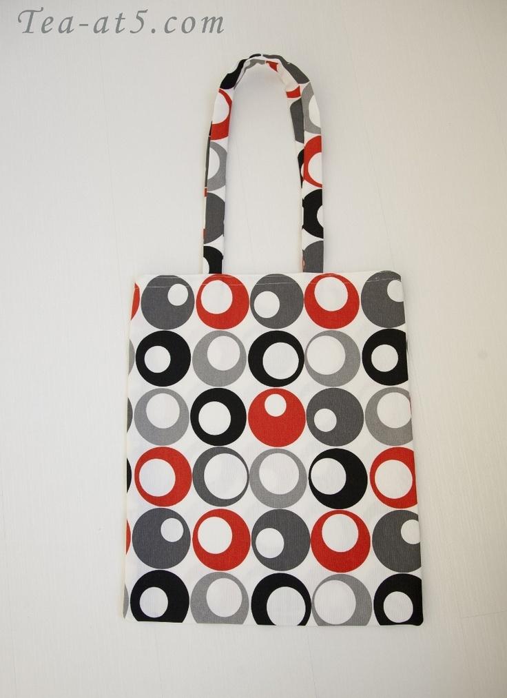 DIY Shopping bag by hilalserter.blogspot.com