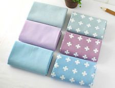Modern cross 100% Cotton Fabric All sizes / Quilting fabric off cuts (ffF147)