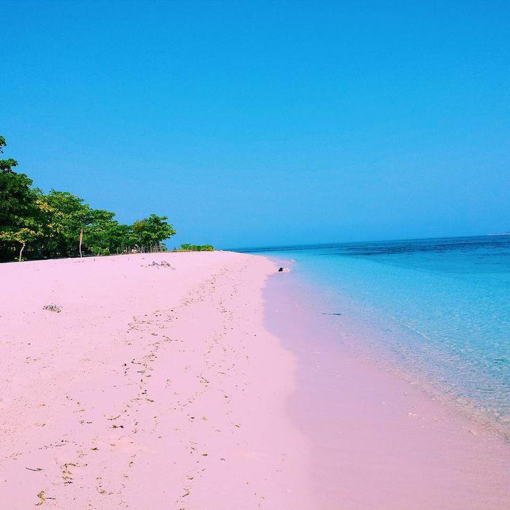 Pink Beach, Great Santa Cruz Island, Zamboanga, De Filipijnen