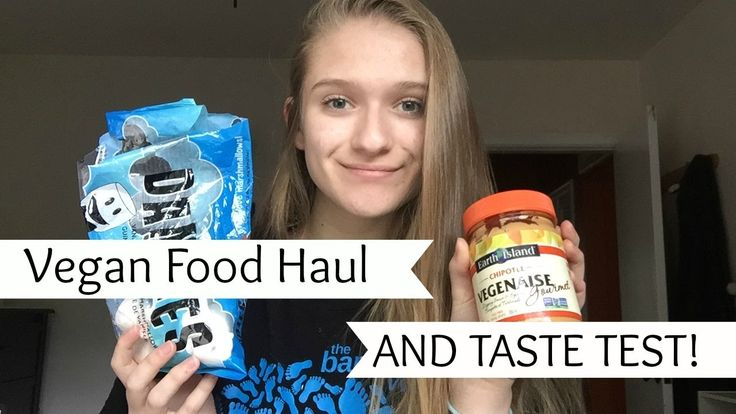 GOING TO A VEGAN GROCERY STORE! //Taste Test + Haul
