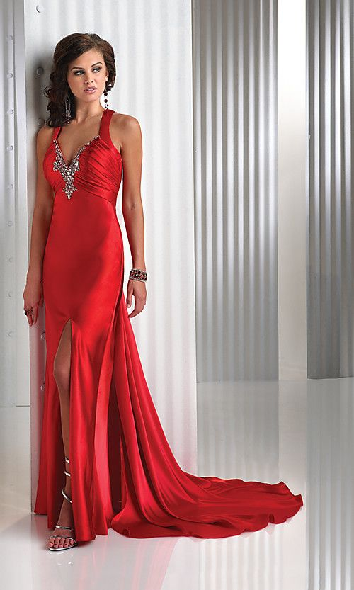 Red prom dress, I want for this year