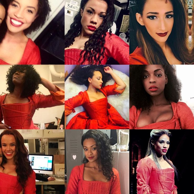 """your-theories-have-flaws:  """" that's when Miss Maria Reynolds walked into my life, she said  from left to right, top to bottom:  Sasha Hutchings, Alysha Deslorieux, Amber Ardolino, Amber Iman, Jasmine Cephas Jones, Samantha Marie Ware, Elizabeth Judd,..."""