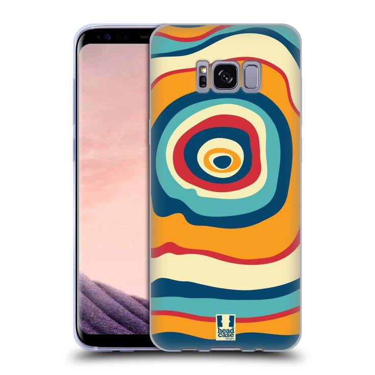 HEAD CASE silikonový obal na mobil Samsung Galaxy S8 vzor Barevné letokruhy SNĚNÍ