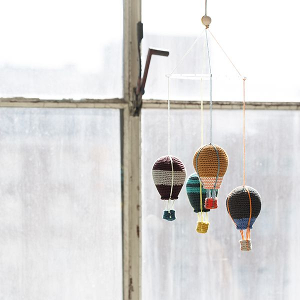 crochet air balloons from Lutter Løkker