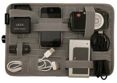 Store All Your Electronic Gadgets & Cords in One Place!Gridit, Ideas, Gift, Organic, Stuff, Laptops Bags, Grid It, Products, Travel Gadgets
