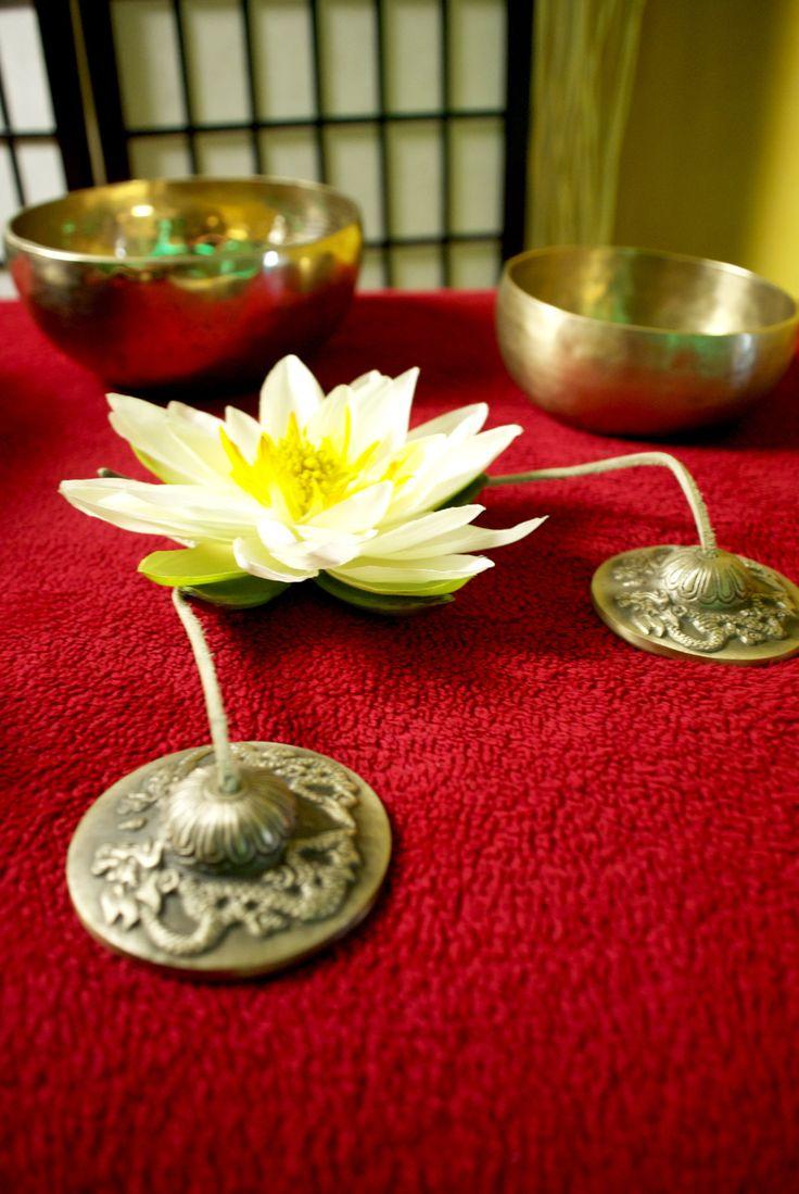 Tibetische Klang Massage bei Belega Natur Wellness Studio